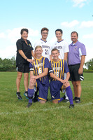 Bay Path Varsity Boy's Soccer Seniors & Coaches