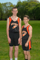 David Prouty Boy's track Captains